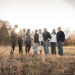 Extended family clothes ideas for large family photography in Athens Ohio