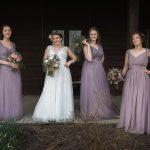 Creative Bridal party portrait photographer in Athens Ohio