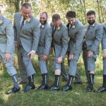 Hocking-hills-athens-lancaster-logan-ohio-wedding-photography-photographer-marriage-heart of the country-outdoors-princess-bride-groomsmen-socks