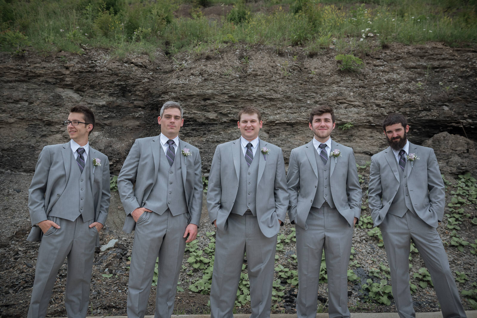 wedding-athens-ohio-photographer-photography-university-walter-hall-groomsmen-hampton inn