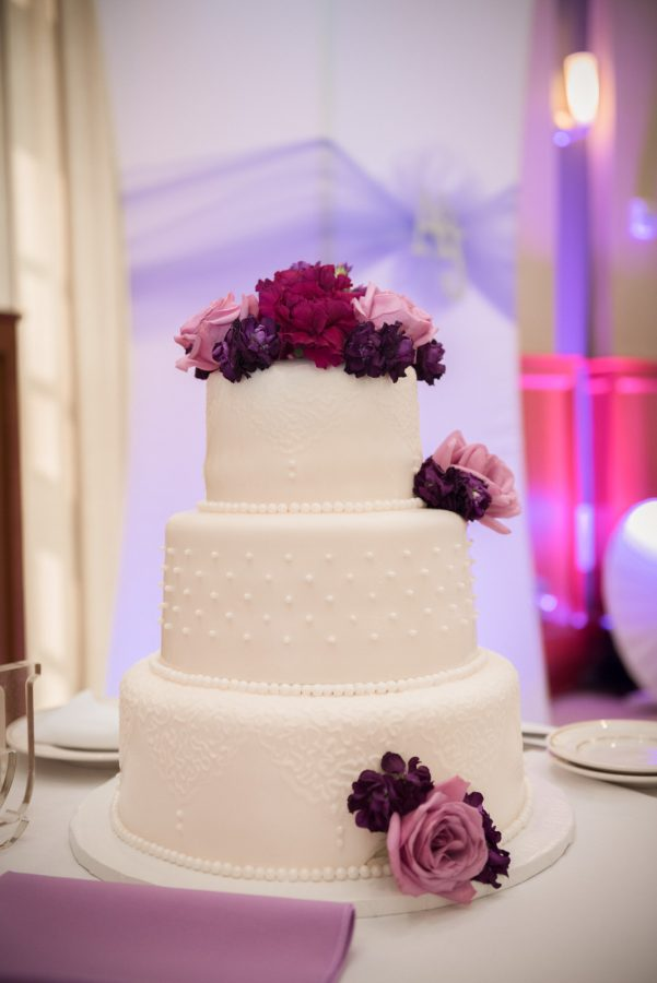 Wedding cake from Heavenly confections