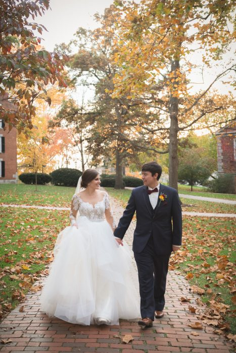 Ohio University Fall Wedding
