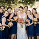 Bridesmaids documentary wedding photographer in Athens Ohio
