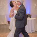Father Daughter wedding dance at the Virtue Golf Course in Nashport Ohio