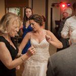 Fun wedding at reception site in Nashport Ohio
