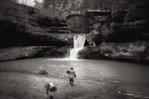 Lifestyle photography documentary session in Hocking Hills Logan Ohio