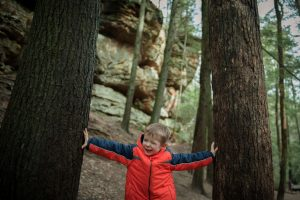 Family photography in Hocking Hills Ohio