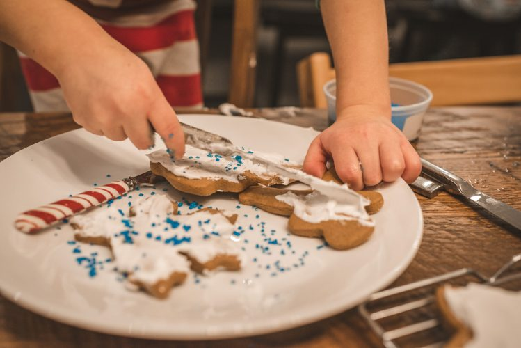 Athens Ohio Family documentary photographer telling a story of Christmas Cookie baking tradition